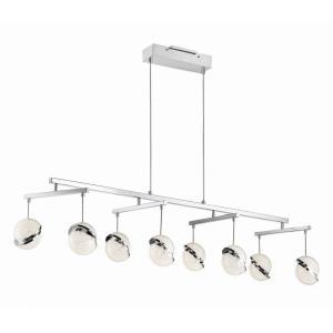 Silver Slice - 49.75 Inch 60W 8 LED Island
