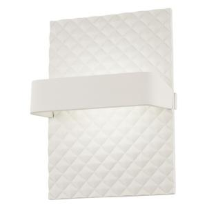 Quilted - 9.25 Inch 8W 1 LED Wall Sconce