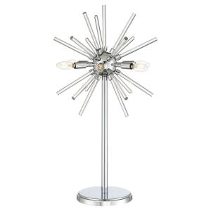 Spiked - 31 Inch 24W 6 LED Table Lamp