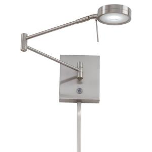 George's Reading Room - 8W 1 LED Swing Arm Wall Sconce