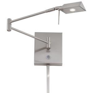 "George's Reading Room - 13.75"" LED Swing Arm Wall Sconce"