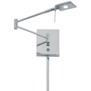 George's Reading Room - 1 LED Swing Arm Wall Sconce
