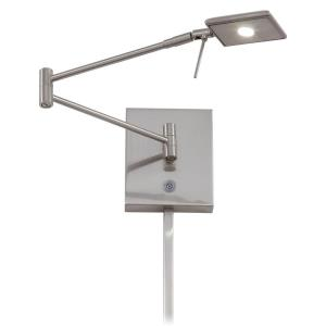 George's Reading Room - 13.75 Inch 8W 1 LED Swing Arm Wall Sconce