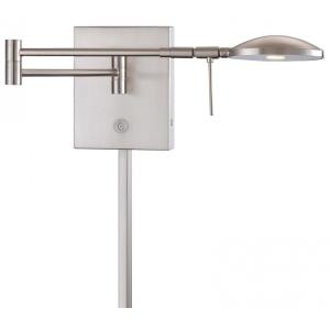 """George's Reading Room - 14.75"""" 8W 1 LED Swing Arm Wall Sconce"""