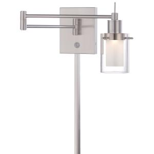 "16"" 8W 1 LED Swing Arm Wall Sconce"