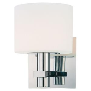 Stem-One Light Bath Vanity in Contemporary Style-5.5 Inches Wide by 7.5 Inches Tall