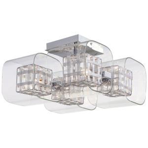 Jewel Box - Four Light Semi-Flush Mount