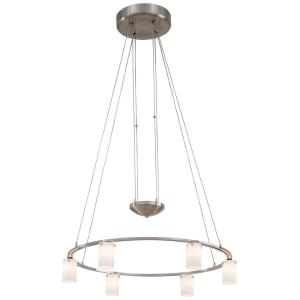 Counter Weights - Six Light Low Voltage Chandelier