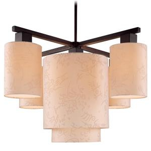 Kimono - Five Light Chandelier