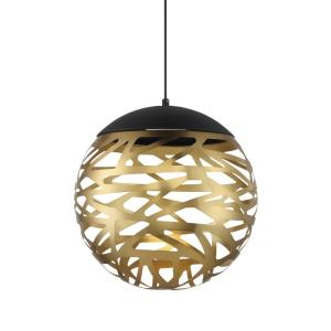 Golden Eclipse - 14 Inch 20W 20 LED Pendant