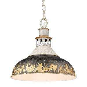 Kinsley - 1 Light Large Pendant in Vintage style - 13.375 Inches high by 14 Inches wide