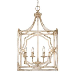 Laurent - 4 Light Pendant in Transitional style - 31 Inches high by 18 Inches wide