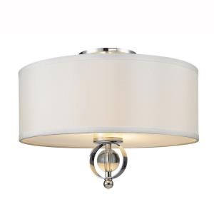 Cerchi - 2 Light Flush Mount