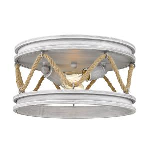 Chatham - 2 Light Round Flush Mount with Rope