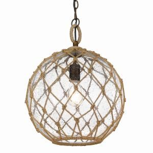 Haddoc - 1 Light Medium Pendant in Sturdy style - 18.5 Inches high by 13.75 Inches wide