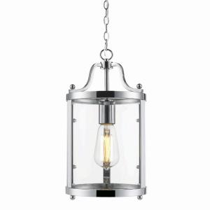 Payton - 1 Light Mini Pendant in Traditional style - 14.5 Inches high by 7.25 Inches wide