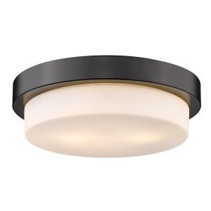 Multi-family - 2 Light Large Flush Mount in Variety of style - 4.25 Inches high by 13 Inches wide