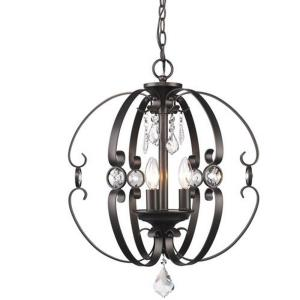 Ella - 3 Light Pendant in Contemporary style - 22.38 Inches high by 18 Inches wide