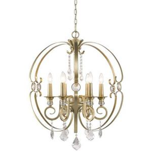 Ella - 6 Light Chandelier in Sturdy style - 31.38 Inches high by 26 Inches wide