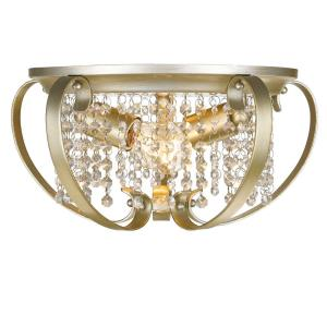 Ella - 2 Light Flush Mount in Contemporary style - 7 Inches high by 14.5 Inches wide