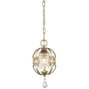 Ella - 1 Light Mini Pendant in Contemporary style - 13.5 Inches high by 7 Inches wide