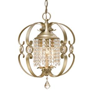 Ella Mini Chandelier   Steel