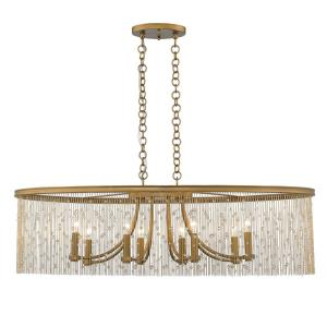 Marilyn - 8 Light Linear Pendant
