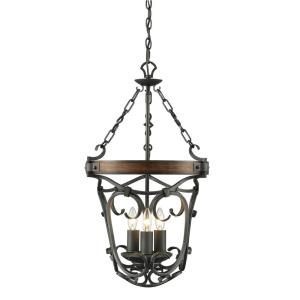 Madera - 3 Light Pendant