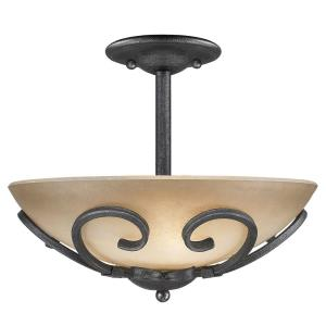 Madera - 3 Light Convertible Semi-Flush Mount