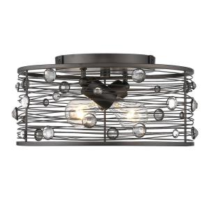 Bijoux - 2 Light Flush Mount