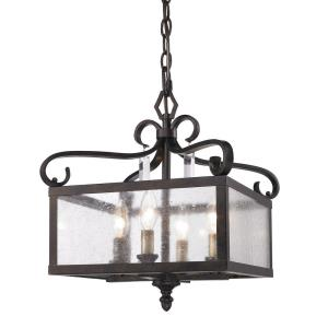Valencia - 4 Light Convertible Semi-Flush Mount