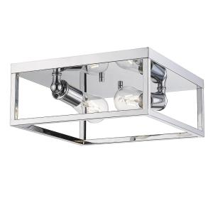 Wesson - 2 Light Flush Mount