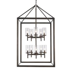 Smyth - 10 Light 2-Tier Pendant in Contemporary style - 47.5 Inches high by 26.5 Inches wide