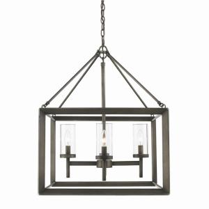 Smyth Mini Chandelier 4 Light  Steel