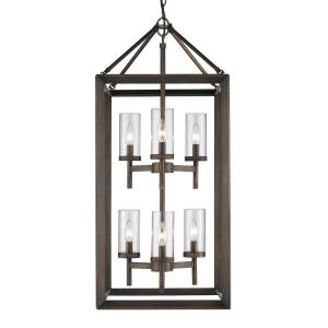 Smyth - 6 Light 2-Tier Pendant