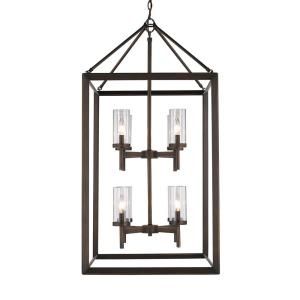 Smyth - 8 Light 2-Tier Pendant in Contemporary style - 42.25 Inches high by 21 Inches wide