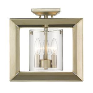 Smyth - 3 Light Semi-Flush Mount