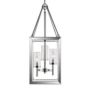 Smyth - 3 Light Pendant in Contemporary style - 32 Inches high by 12 Inches wide