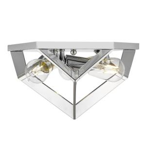 Architect - 3 Light Flush Mount