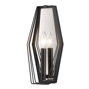 Gia - One Light Wall Sconce in Sturdy style - 14 Inches high by 6 Inches wide