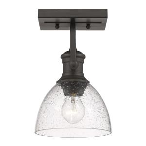 Hines 1-Light Semi-Flush
