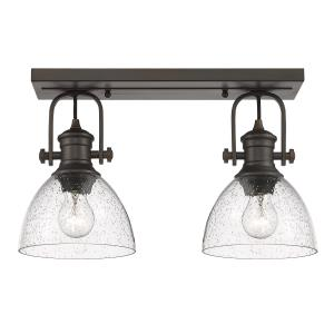 Hines 2-Light Semi-Flush
