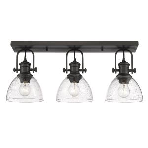Hines 3-Light Semi-Flush