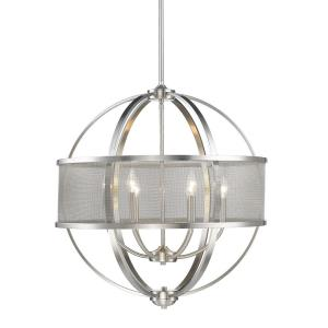 Colson - 6 Light Chandelier in Durable style - 28.75 Inches high by 27.25 Inches wide