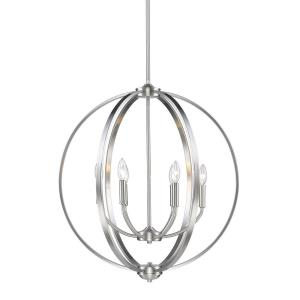 Colson Chandelier 6 Light  Steel