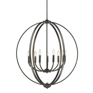 Colson - 9 Light Chandelier in Durable style - 35 Inches high by 31 Inches wide