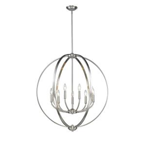 Colson Chandelier 9 Light  Steel
