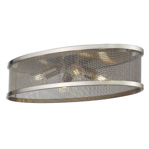 Channing Four Light Flush Mount - 24 Inch