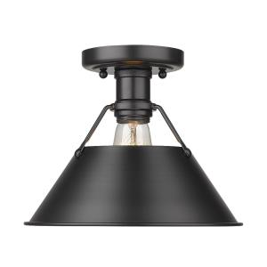 Orwell - 1 Light Flush Mount in Vintage style - 8 Inches high by 10 Inches wide