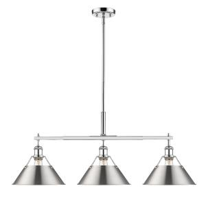 Orwell - 3 Light Linear Pendant